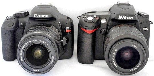 Canon або Nikon: що краще?