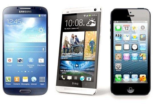 Чим відрізняється айфон від смартфона