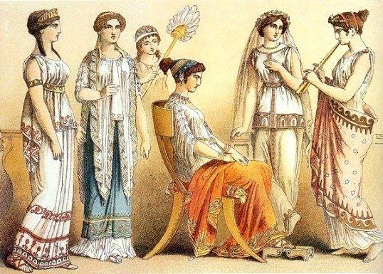 Чим відрізнялася одяг древніх римлян від одягу древніх греків