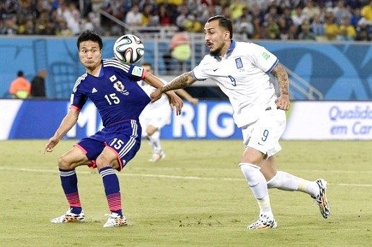 ЧС 2014 з футболу: як проходила гра Японія - Греція