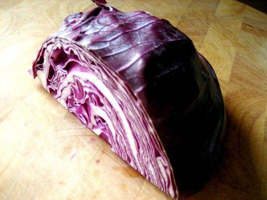 Що робити з фіолетовою капустою