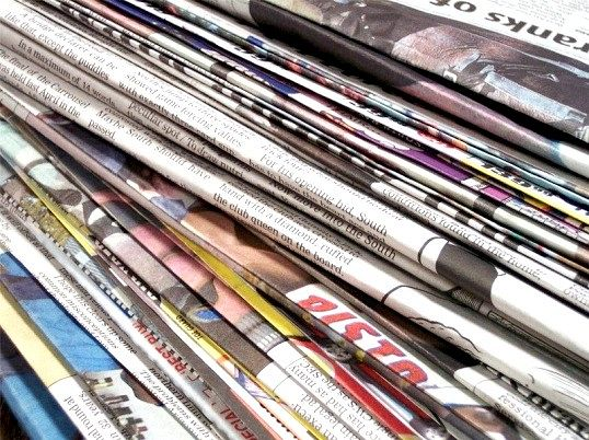 Що робити зі старими, непотрібними газетами і журналами