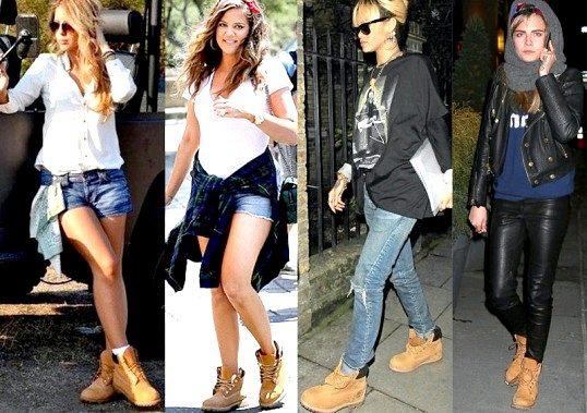 Що носять з рудими черевиками