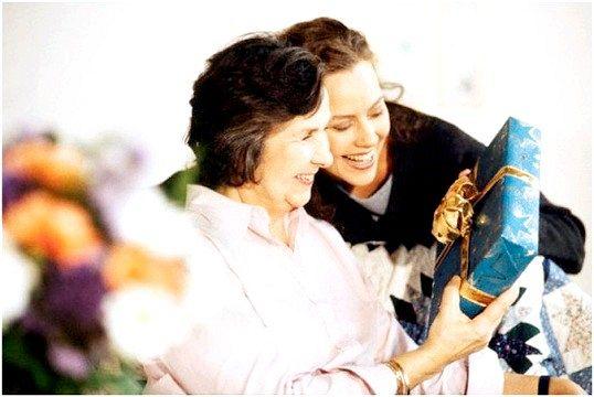 Що подарувати бабусі