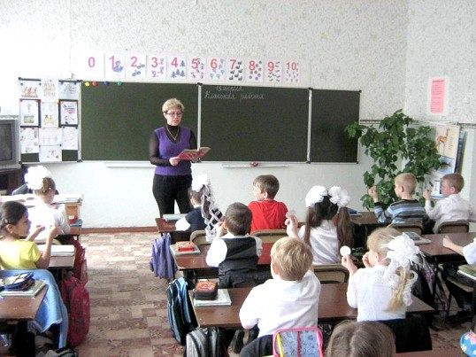Урок математики у 2 класі