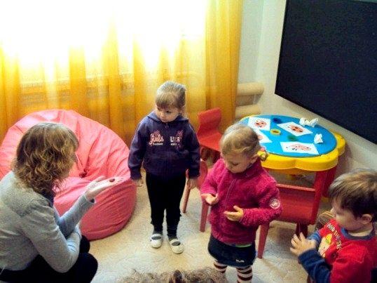 Заняття психолога з дітьми - це завжди гра