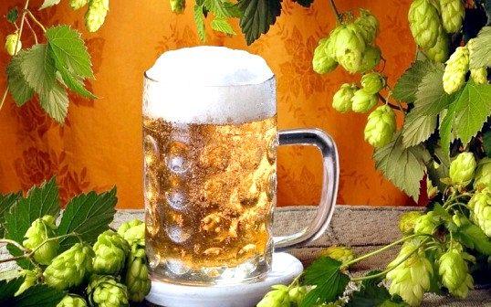 Що входить до складу пива