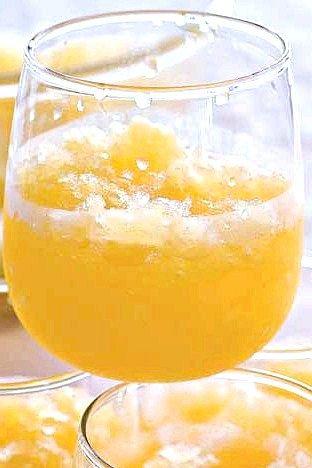 Цитрусовий пунш з шампанським