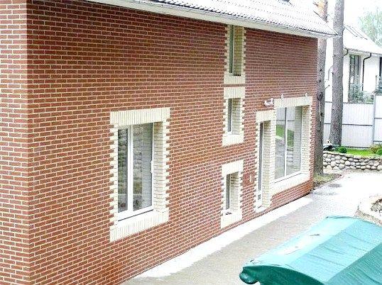Фасадна обробка заміських будинків, котеджів