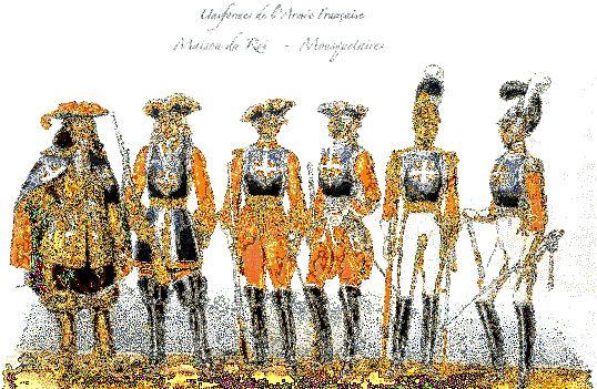 Де і коли вперше з'явилися мушкетери