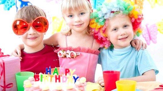 Де відзначити день народження дитини