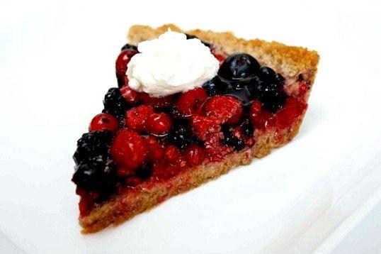 Ягідний-ягідний пиріг