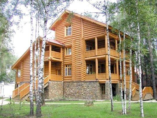Енергозберігаючі дерев'яні колод будинки: плюси і мінуси