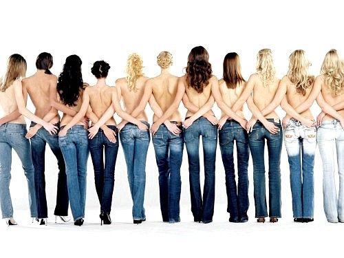 Як повинні сидіти джинси