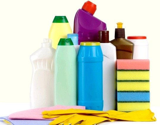 Як зберігати миючі засоби та пральний порошок