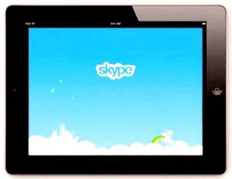 Як використовувати скайп для планшета android