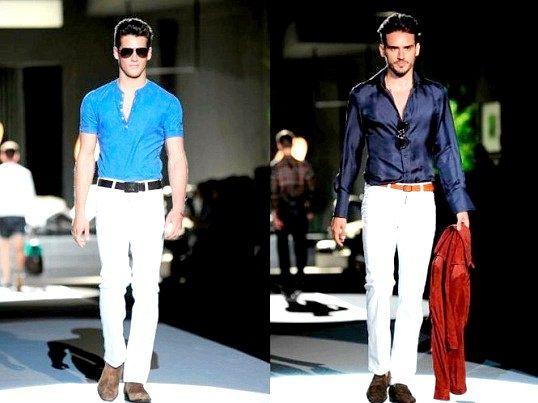 Як краще носити чоловічі джинси