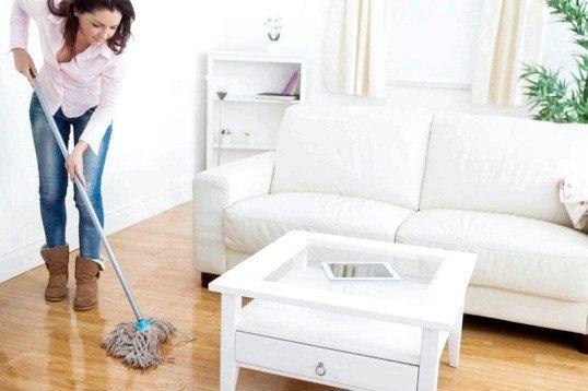 Як мити підлоги в квартирі