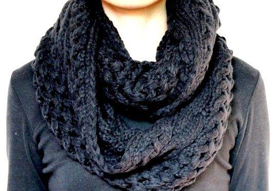 Як носити шарф снуд