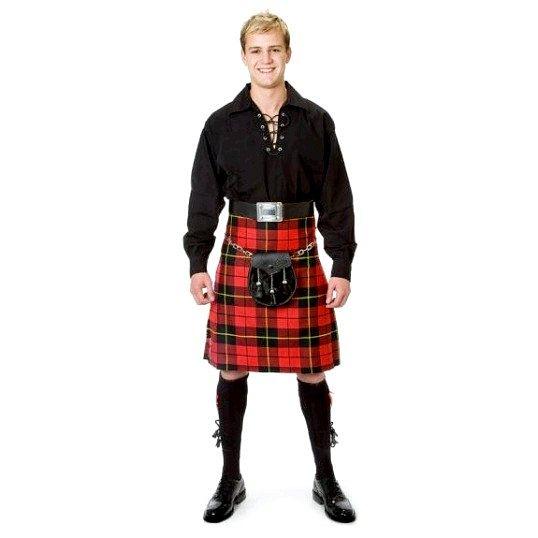 Як носити шотландську спідницю