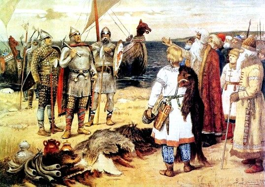 Як утворилася стародавня русь