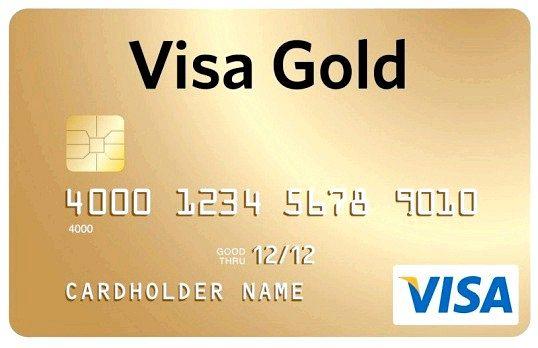 Як оформити картку ощадбанку visa gold