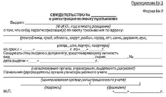Як Оформити тимчасову реєстрацію громадянину рф в москві