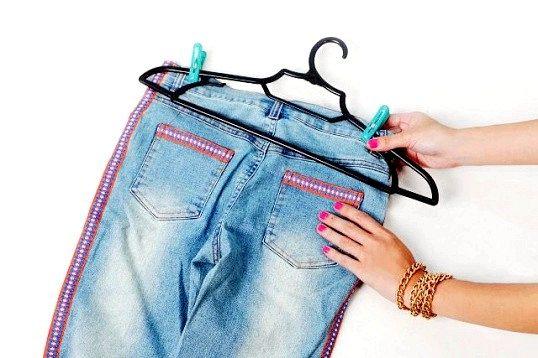 Як відіпрати фарбу з джинсових штанів