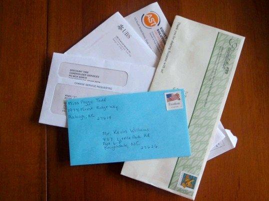 Як друкувати адресу на конверті