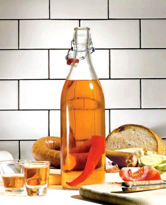 Як пити горілку з перцем