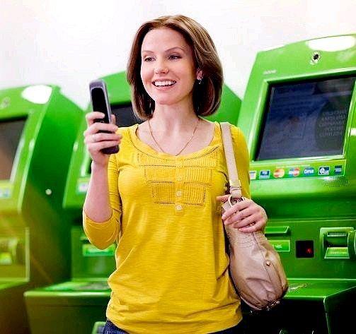 Як покласти гроші з карти ощадбанку на телефон