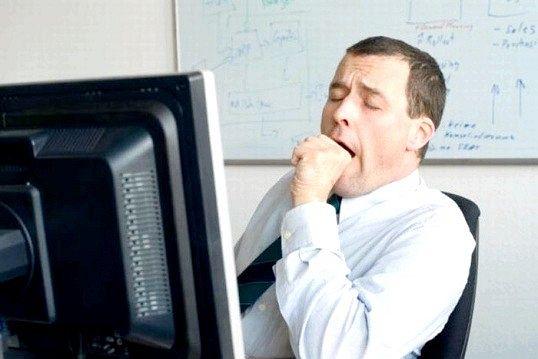 Як припинити позіхати на роботі