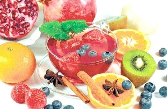 Як приготувати фруктовий і ягідний чай