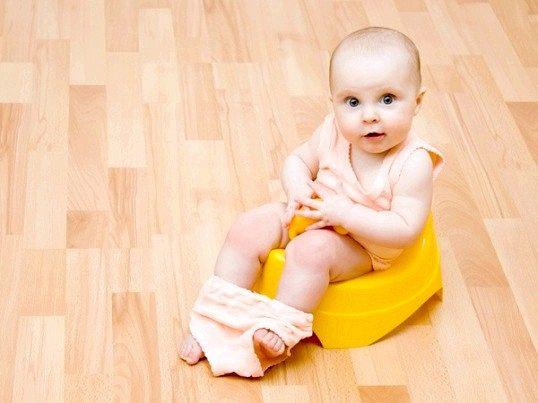 Як привчити малюка до горщика