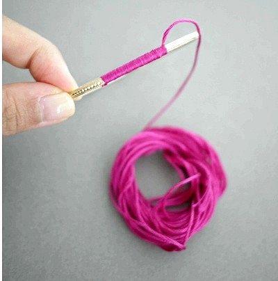 Як зробити браслет з підвісками