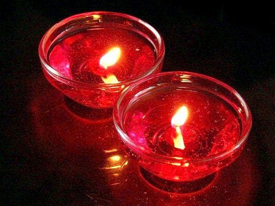 Як зробити гелеву свічку