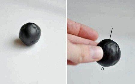 Як зробити кулон з полімерної глини