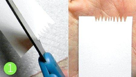 Як зробити манікюр «Кольорові подряпини»