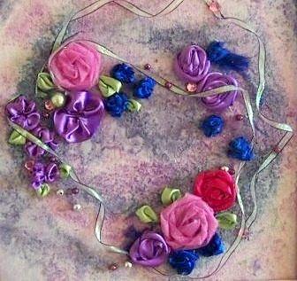 Як зробити панно з квітів своїми руками