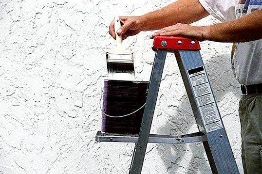 Як зняти фарбу з гіпсокартону