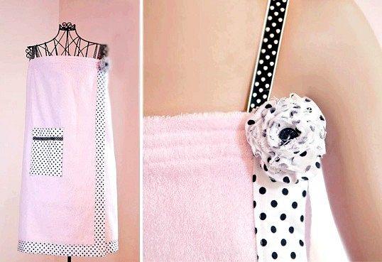 Як зшити банний халатик