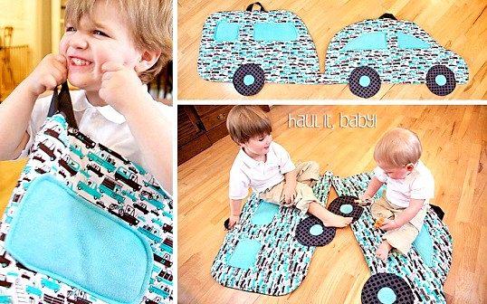 Як зшити дитячий килимок