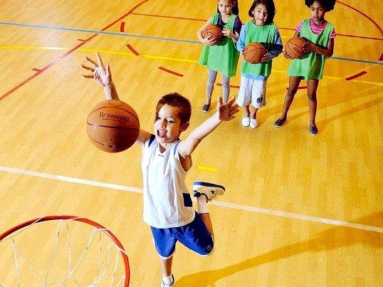 Як стати баскетболістом