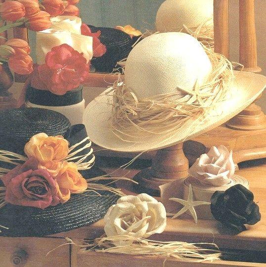 Як прикрасити солом'яний капелюшок