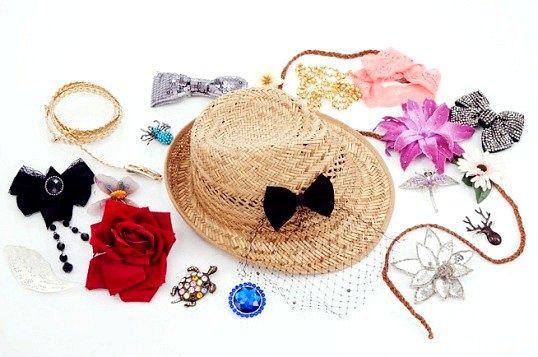 Як прикрасити солом'яний капелюх