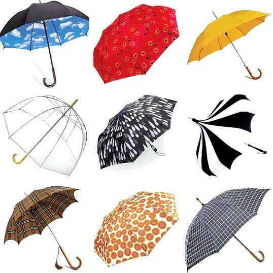 Як вибрати незвичайний парасольку