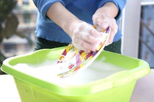 Як вибрати засіб для миття посуду