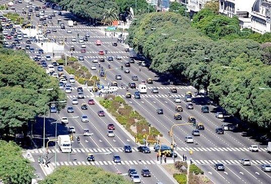 Яка сама широка вулиця в світі