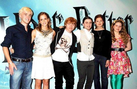 Які актори грають у «Гаррі Поттера»