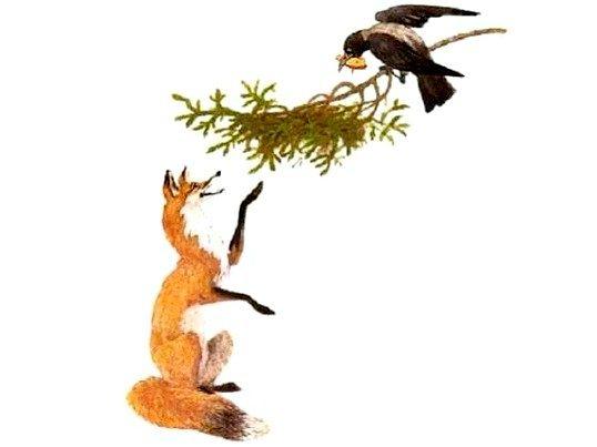 Ворона і лисиця
